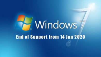 Photo of Microsoft End Support for Windows 7